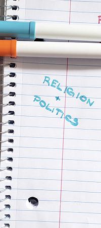 Language exchange topics about religion and politics