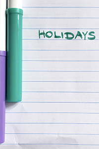 Holiday questions for online language exchanges