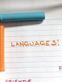 Language exchange topics about languages