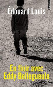 The book cover of en finir avec Eddy Belleguele