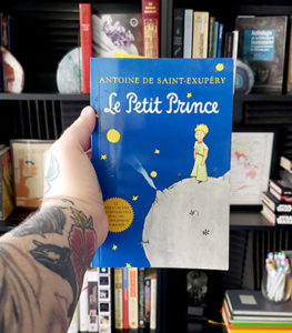 The cover of the classic French book for beginners, Le Petit Prince