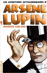 A cover to one of of the stories in the French book series staring Arsene Lupin