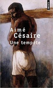 The cover for Une Tempête