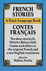 The cover of French Stories: a dual-language book