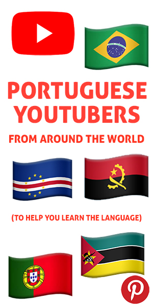The Pinterest flag for Portuguese YouTubers from Around the World