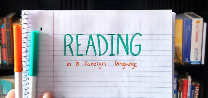 Reading in another language