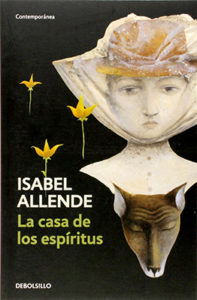 Cover for La Casa de los Espiritus, an important Spanish book in the tradition of Magic Realism
