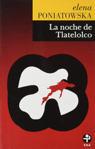 Spanish book cover for la noche de tlatelolco