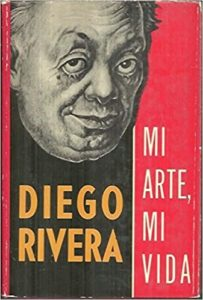 Cover of Mi Arte Mi Vida, the original Spanish edition of the autobiography of Diego Rivera