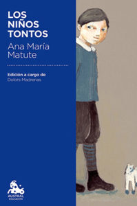 The cover of Los Niños Tontos, a book of Spanish short stories