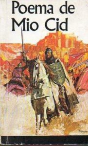 Cover for a book version of Poema de Mio Cid, the Spanish epic poem