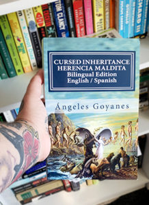 Cover of the Spanish short story book Cursed Inheritance