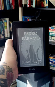 Cover of the Mexican Spanish book Pedro Paramo