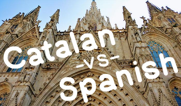 Catalan vs Spanish