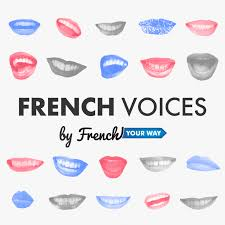 Cover of French voices