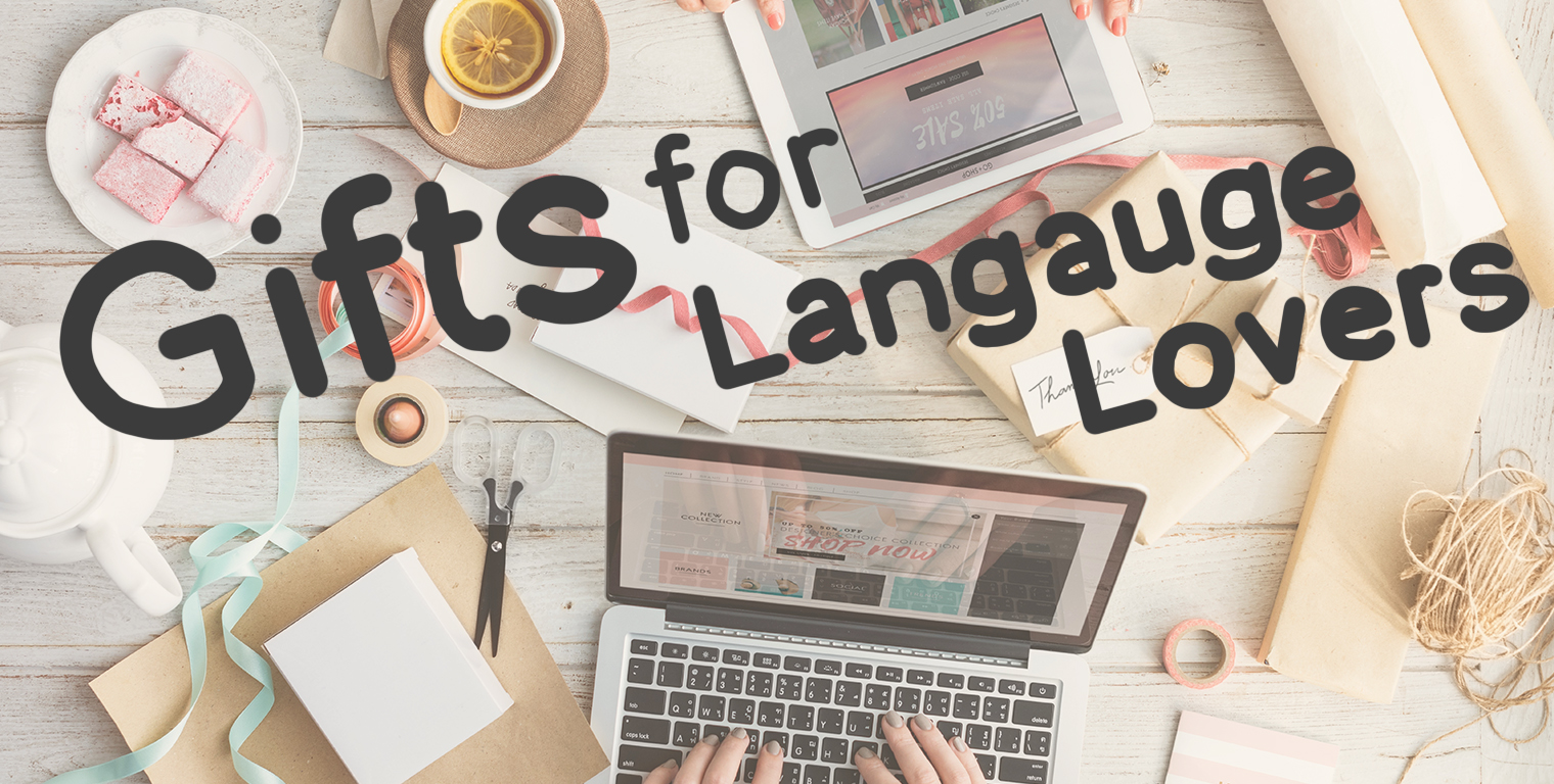 Gifts for language lovers