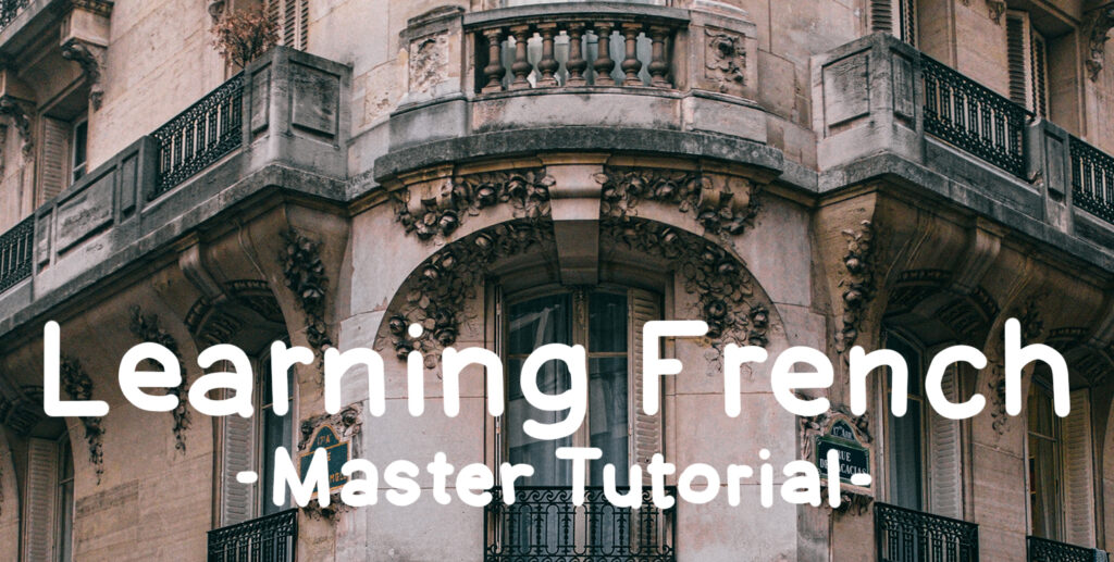 Learning French: Master Tutorial