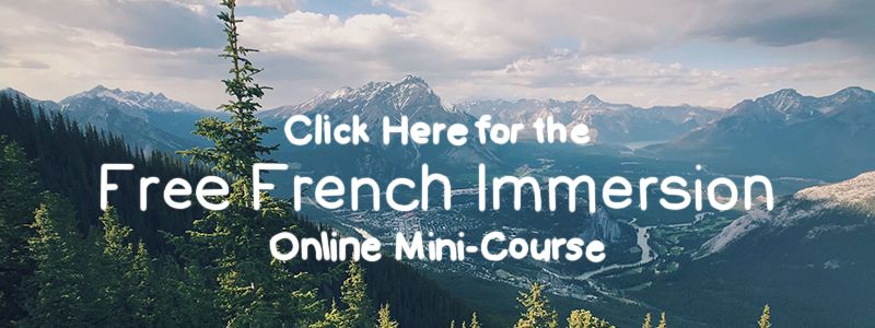 CLICK HERE for the free French immersion mini-course