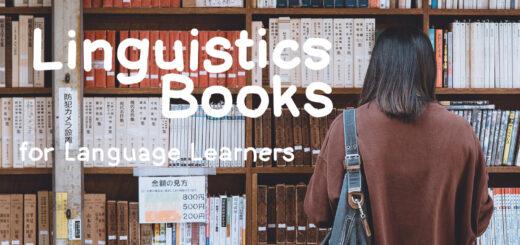 Linguistics books for language learners