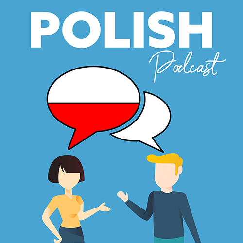 "The cover of ""Polish Podcast"""