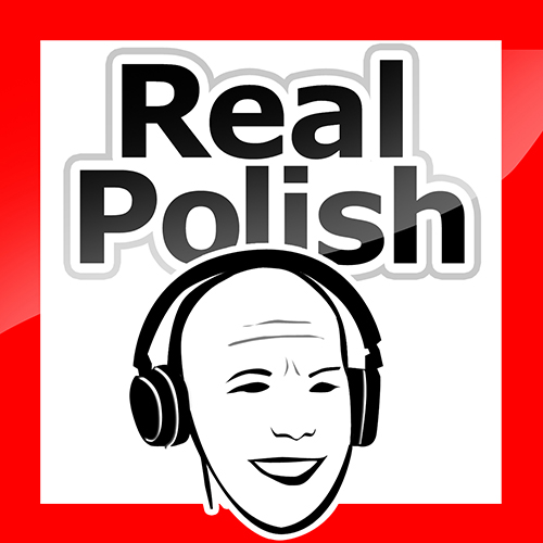 "The cover of the ""Real Polish"" podcast"