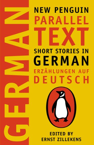 The cover of New Penguin Parallel Text for German