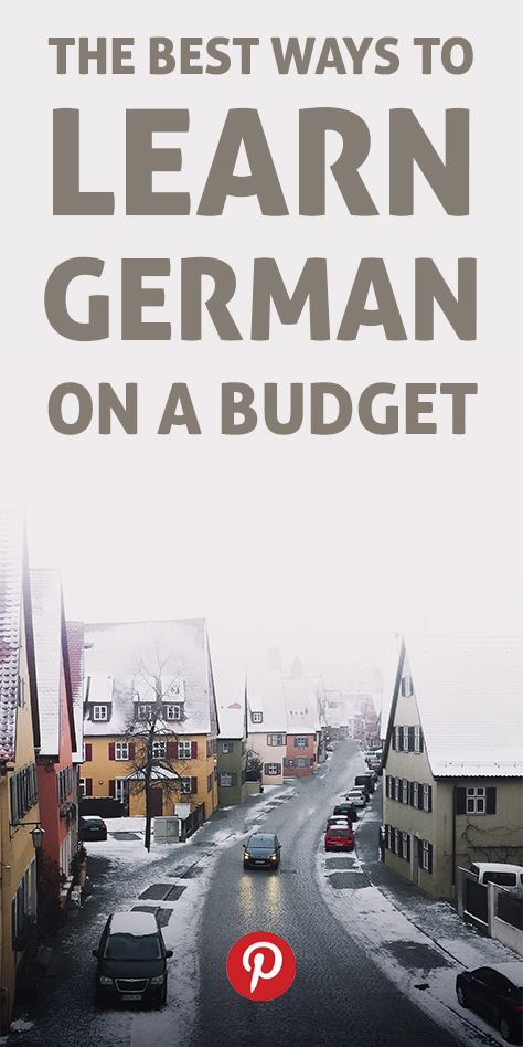 The Best Way to Learn German on a Budget