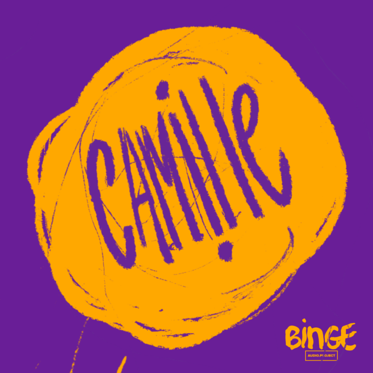 Camille French gender and sexuality podcast logo