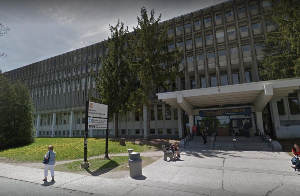 Exterior of Laval University