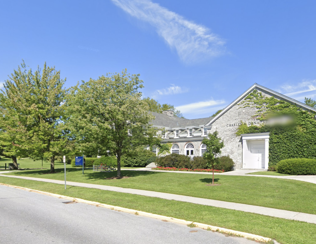 Exterior of Middlebury College Language Schools (Vermont, USA)
