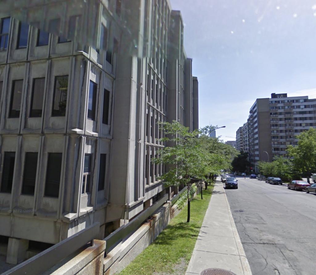 Exterior of McGill College department of languages