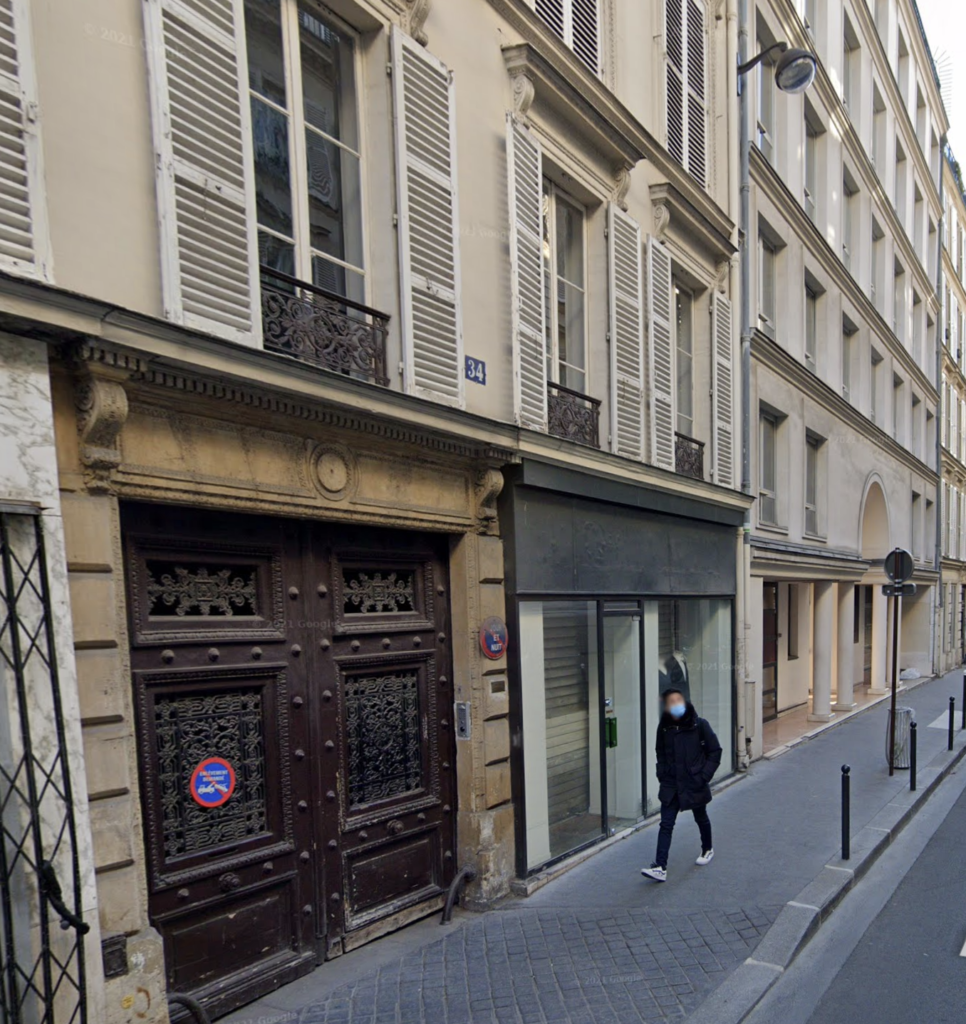 Exterior of L'atelier 9 (Paris, France)